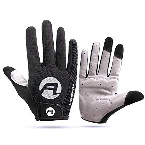 1 par de guantes de bicicleta masculinos y femeninos guantes