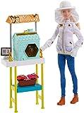 Barbie Quiero Ser Apicultora, muñeca con accesorios (Mattel FRM17)