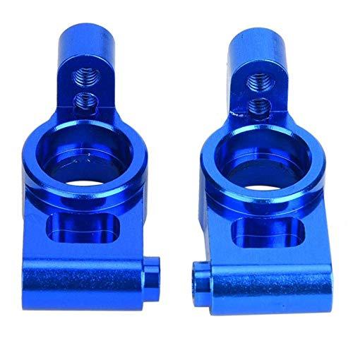 LIZONGFQ Accesorio para Coche RC con buje Trasero RC de tamaño Compacto, 2 Piezas para Coche 1/10 RC Hobby (Rojo (RS4003-OR)) ( Color : Dark Blue (Rs4003nb) )