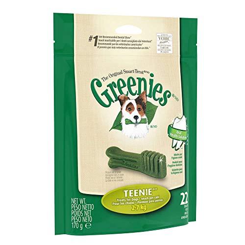 Greenies Snack Limpieza Dental - 17 - Teenie 2-7 Kg, 170 Grs