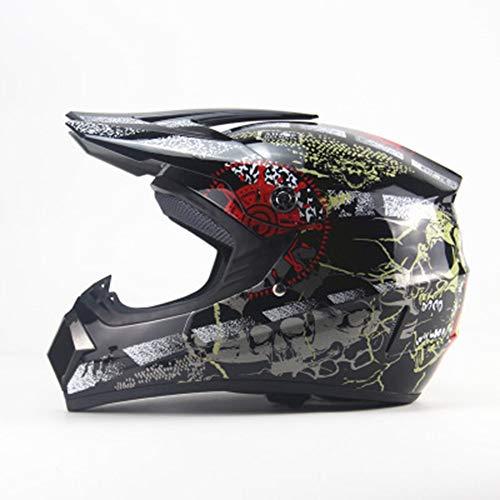 YZYZYZ Helme Vier Jahreszeiten Motorrad Offroad Helm Mountainbike Integralhelm AM dh...