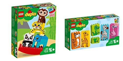 Steinchenwelt Lego® Duplo® Creative Play 2er Set: 10884 Meine erste Wippe mit Tieren + 10885 Mein erstes Tierpuzzle