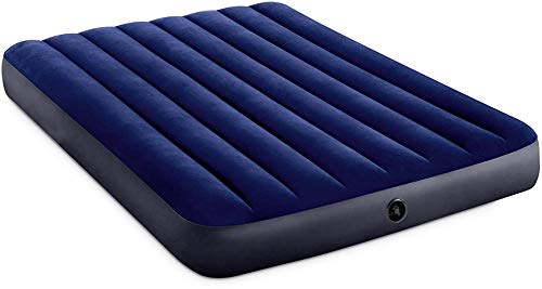 com-four® Luftmatratze für Zwei Personen - Luftbett - aufblasbare Matratze für Camping und Gäste - Gästematratze - 191 x 137 x 25 cm - bis 273 Kg (191x137x25cm)