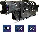 "Rexing B1 Basic Night Vision Goggles/Monoculars w/1.5"" LCD Screen, Infrared (IR) Digital Camera"