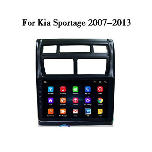 LHWSN Für Kia Sportage Android 9.0 Auto Stereo Bluetooth-GPS-Navigation WiFi FM AM/RDS HiFi AUX SWC-Autoradio 9