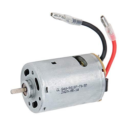Dilwe Motore per Auto RC, 540 Motore in Metallo 1:18 Ricambio per aggiornamento Auto RC Disponibile per WLtoys A959 A969 A979