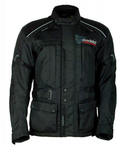 Modeka DOWNTOWN RACE Textiljacke Touring - schwarz Größe XS