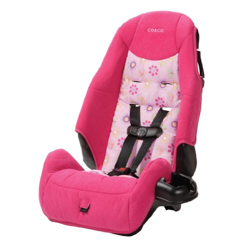 For Sale! Cosco – Highback 2-in-1 Booster Car Seat – 5-Point Harness or Belt-positioning – Mac...