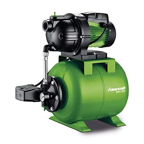 Stormer Cleancraft 7522100 Cleancraft huiswaterpomp, debiet 76 l/u, voor huishoudelijk, tank 19 liter, zelfaanzuigende pomp – GP 1105C