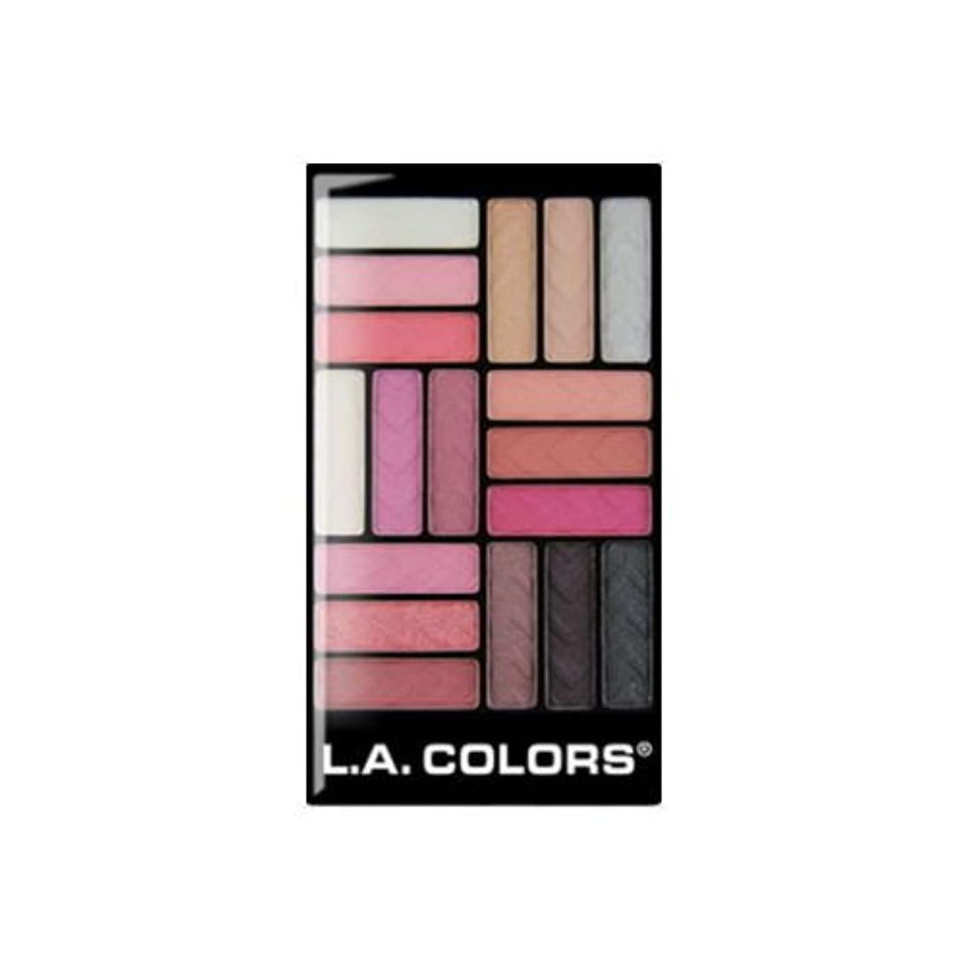 騒乱護衛バスケットボール(3 Pack) L.A. COLORS 18 Color Eyeshadow - Diva Glam (並行輸入品)