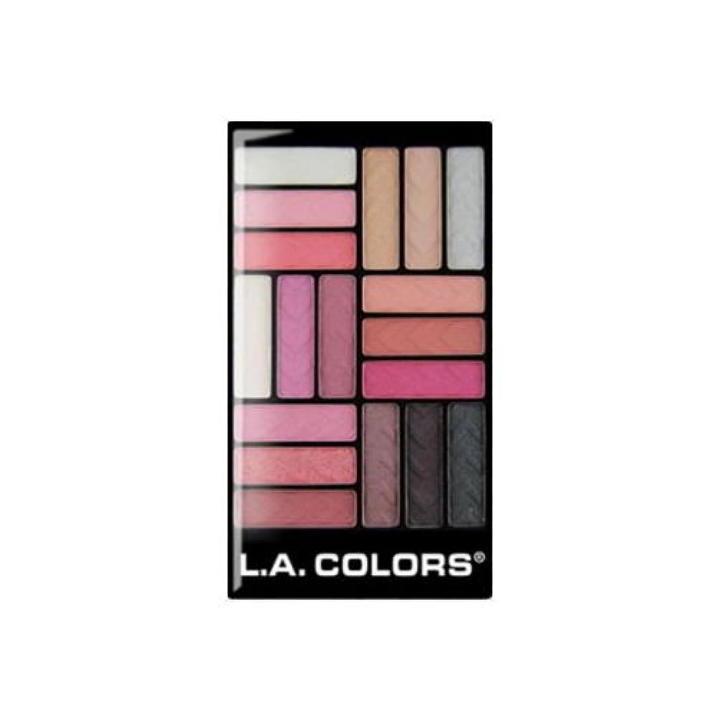 促進するジョージスティーブンソン良さ(6 Pack) L.A. COLORS 18 Color Eyeshadow - Diva Glam (並行輸入品)