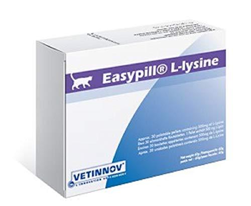 Easypill L-Lysine für Katzen, 30 x 2g-Tabletten