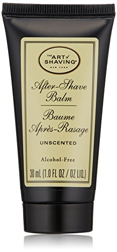 The Art of Shaving After-Shave Balm for Men - Face Moisturizer, Clinically Tested for Sensitive Skin, Unscented, 1 Ounce