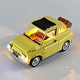 K99 Conjunto de iluminación LED Compatible con Lego 10271 Building Blocks Juguetes, Equipo de iluminación para el Fiat 500 (Lego Modelo no está Incluido)