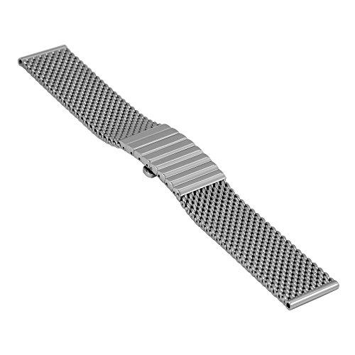 Staib Milanaisearmband Edelstahl STEEL-2792-1192PBS Anstoß 20 mm Länge 130 mm