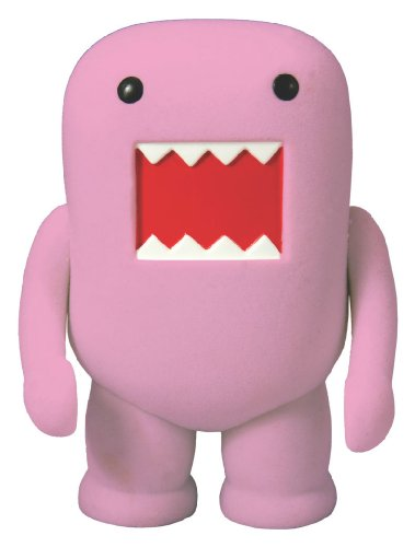 Domo 4-Inch Flocked Vinyl Figure Classic Brown