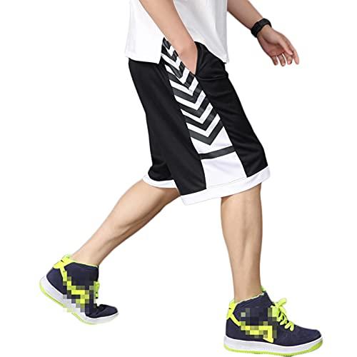 GRAFTS Mens Basketball Shorts Summer Sports Lounge Shorts Drawstring Shorts...