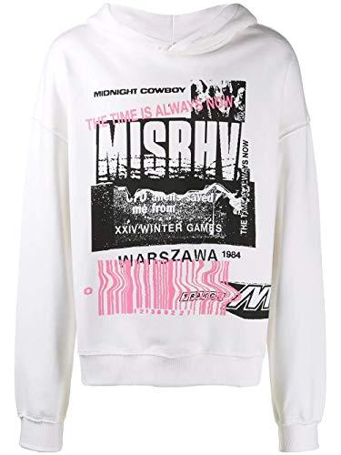 MISBHV Luxury Fashion Mens 119M333OFFWHITE White Sweatshirt   Fall Winter 19