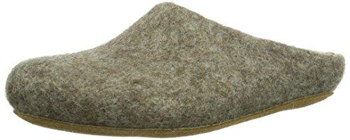 MagicFelt Unisex-Erwachsene AR 713 Pantoffeln, Braun (Shetlandschaf 4856), 39 EU