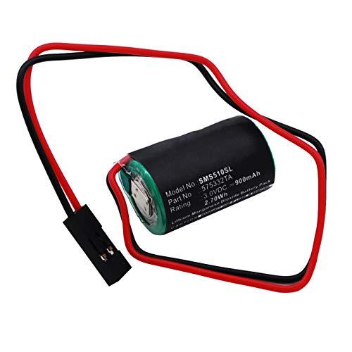 subtel® Qualitäts Batterie kompatibel mit Siemens Simatic S7-300, W79084-E1001-B2, Simatic S5-90U, Simatic S5-100U, 840D, MC2-BAT-AB, 575332TA, 6FC5247-0AA18-0AA0 900mAh Ersatzakku Batterie