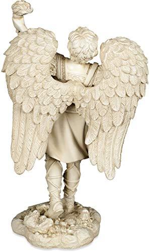 Figura de ángel Arcángel, Uriel, 17,78 cm