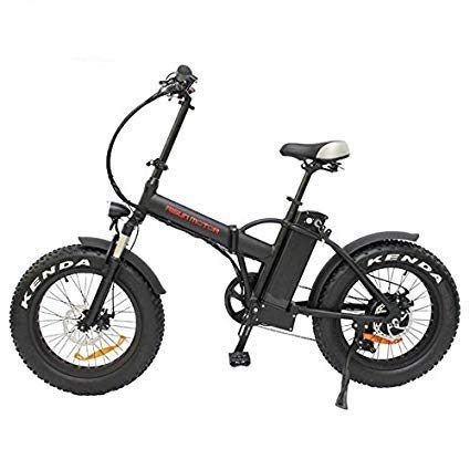 "48V 500W or 750W 8Fun Bafang Hub Motor 20"" Ebike Mini Folding Fat Tire Electric Bicycle with 48V 12.5AH or 48V 17.5AH Lithium Battery (48V 750W+Hydraulische Bremse, 48V 17.5AH AKKU)"