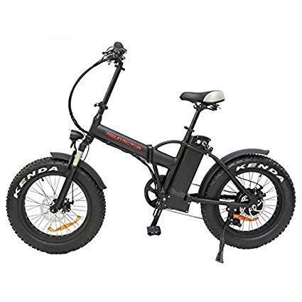 48V 500W or 750W 8Fun Bafang Hub Motor 20' Ebike Mini Folding Fat Tire Electric Bicycle with 48V 12.5AH or 48V 17.5AH Lithium Battery (48V 750W + Hydraulic Disc Brake, 48V 17.5AH Battery)
