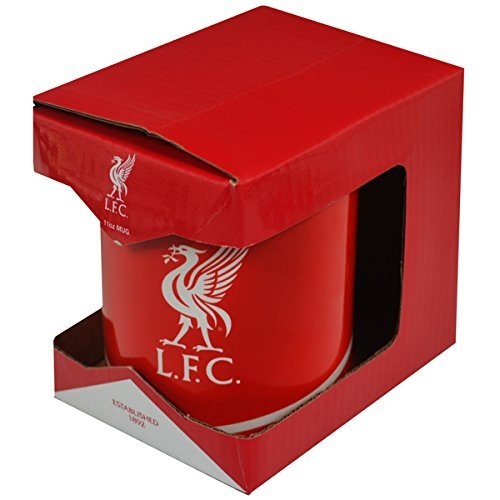 Liverpool FC - Authentic EPL Crest Mug in Gift Box