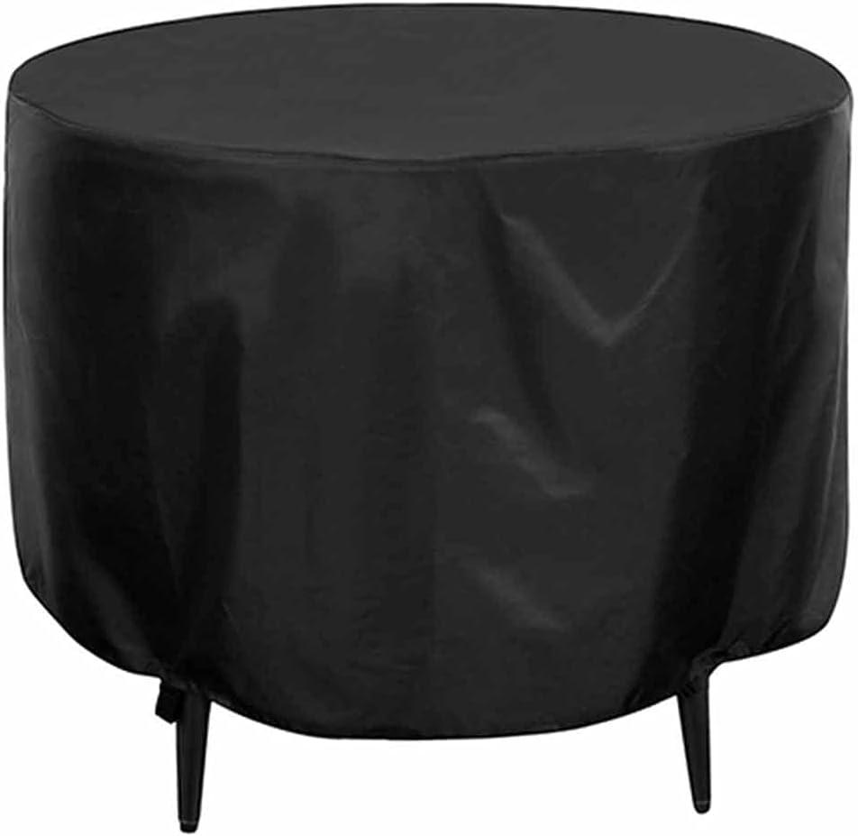 KUAIE Circular Table service Cover Waterproof Tampa Mall Oxford Fur Fabric Patio