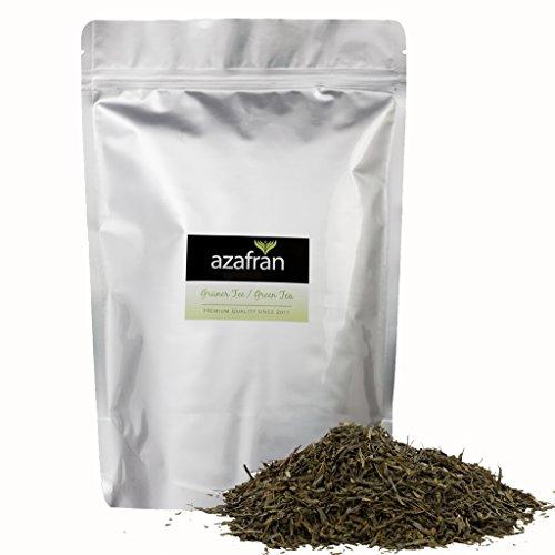 Azafran Grüner Tee - BIO Sencha Uchiyama Grüntee - Original aus Japan 500g