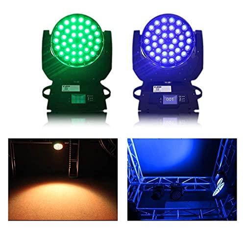 SONGYU 36 x 10W RGBW LED Moving Head Light 4 in 1 7colors Beam Spot DMX512 Luce da palcoscenico per DJ Disco Club Party