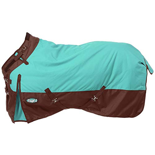 Tough 1 1200D Snuggit Turnout 300g 75In Turquoise