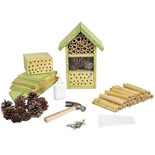 SIDCO Insektenhotel Bastler Bausatz Insektenhaus selber Machen Bienenhotel basteln