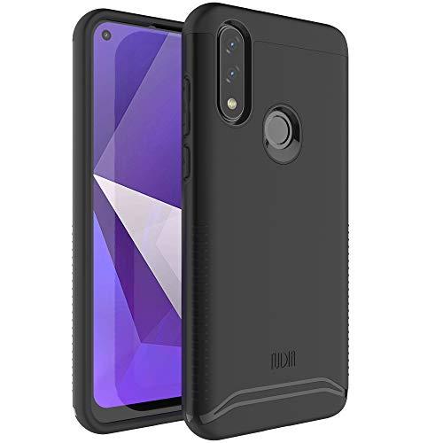 TUDIA Merge Designed for BLU G70 Case, Dual Layer Phone Cover Case for BLU G70 (Matte Black)