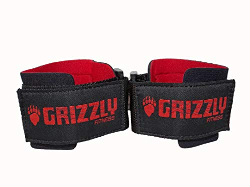 Grizzly Fitness Power Weight Training Wrist Wraps for Men and Women...