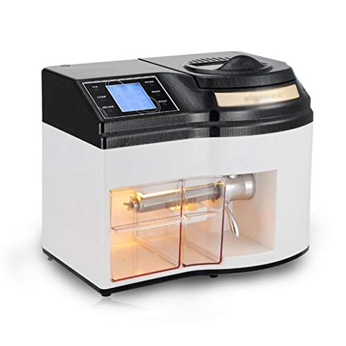 JBHURF Haushalt kleine Ölpresse Ölpumpeneinheit automatischer Lichtwellen Sterilisation sicher Diät Öl intelligente kalte Presse/Heißpresse geräusch- und Energieeinsparung