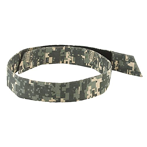 Ergodyne - 12314 Chill Its 6705 Cooling Bandana, Evaporative Polymer Crystals for Cooling Relief, Quick and Secure Fit Camo