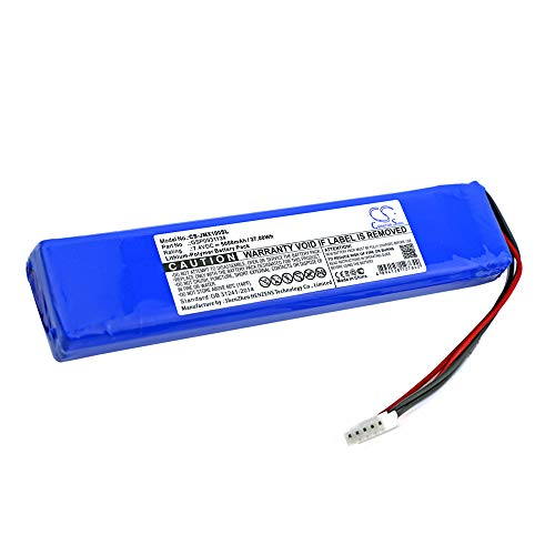 High Capacity 5000mAh Li-Polymer Replacement Battery for JBL Xtreme, JBLXTREME, fits JBL GSP0931134