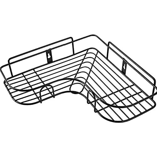 Feixing Estante de esquina triangular para baño, cocina, ducha, organizador de estante sin sacador