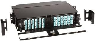 CommScope - TFP-2TT00-000B - 2ru Tfp Series Fiber Panel Takes 4 Tfp Adapter Packs Black