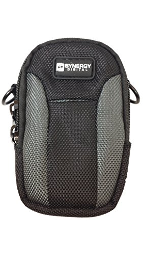Nikon Coolpix S7000 Digital Camera Case Medium Point & Shoot Digital Camera Case, Black / Grey - Replacement by Synergy