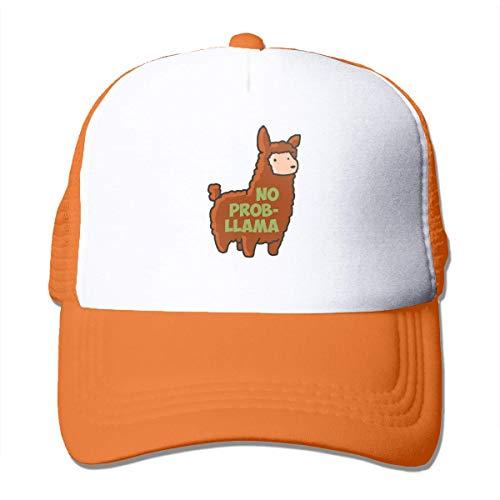 Wenxiupin No Prob-Llama Casquette de baseball réglable pour adulte