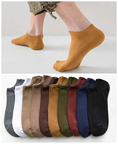 Golway 靴下 メンズくるぶし ソックス 24-28cm 靴下 10足 男女兼用