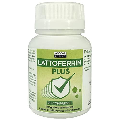 Lattofferina pura, 90 compresse | con Echinacea | Rinforza...