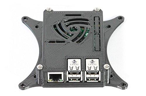 50 X Raspberry Pi 3 Case with 75mm & 100mm VESA Monitor TV Mount Black 0110-M-P