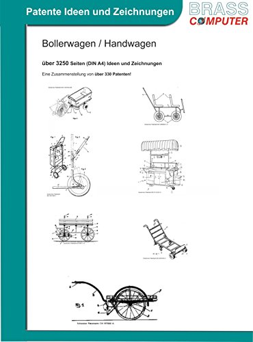 Bollerwagen / Handwagen, ca. 3250 Seiten (DIN A4) Ideen und Zeichnungen