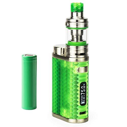 SC Eleaf iStick Pico Resin Kit inkl. Melo 4 D22 (2 ml) 2500mAh E-Zigarette E-Shisha Starterset (nikotinfrei) (grün)