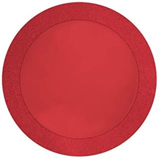 red glitter placemats