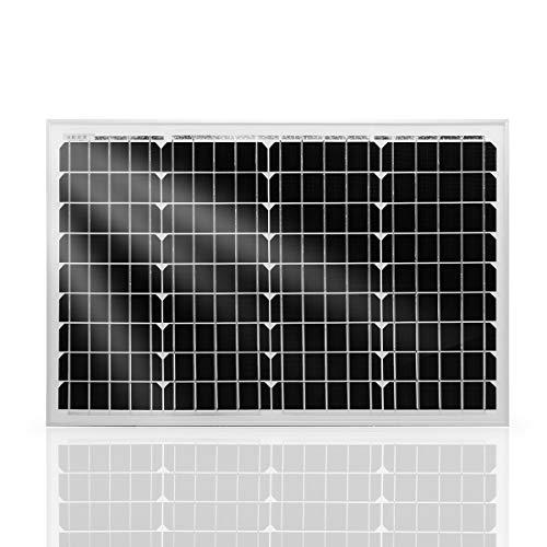 Betop-camp 40 W Solarmodul Mono 12 V Solarpanel, Solarzelle, Photovoltaikmodul für Aufladen von 12V Solarbatterie
