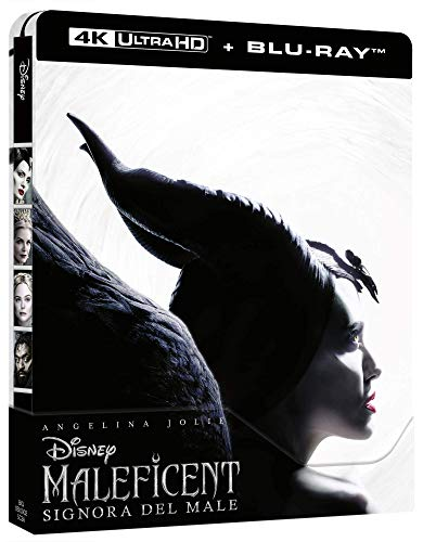 Locandina Maleficent: Signora Del Male 4K Steelbook  (2 Blu Ray)